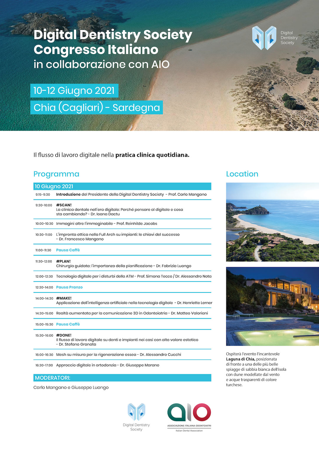 Programma Digital Dentistry Society Congresso Italiano